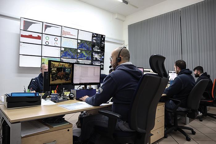 Centrale operativa Powering